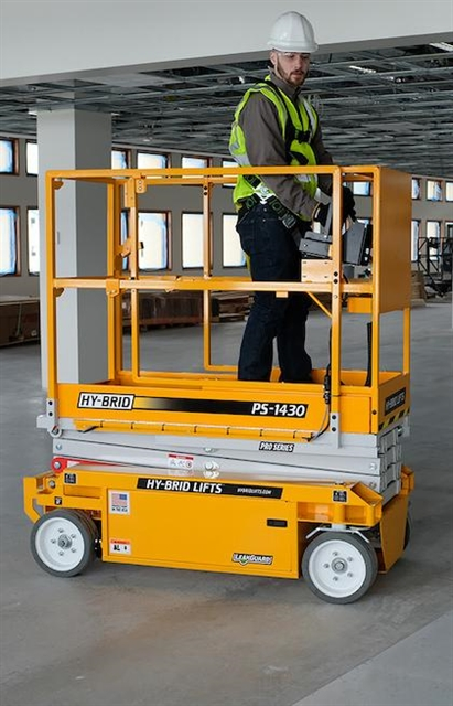 ANSI-compliant Hy-Brid Lifts PS-1430 model