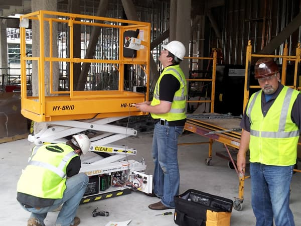 Are Scissor Lifts Safe? | Hy-Brid Lifts