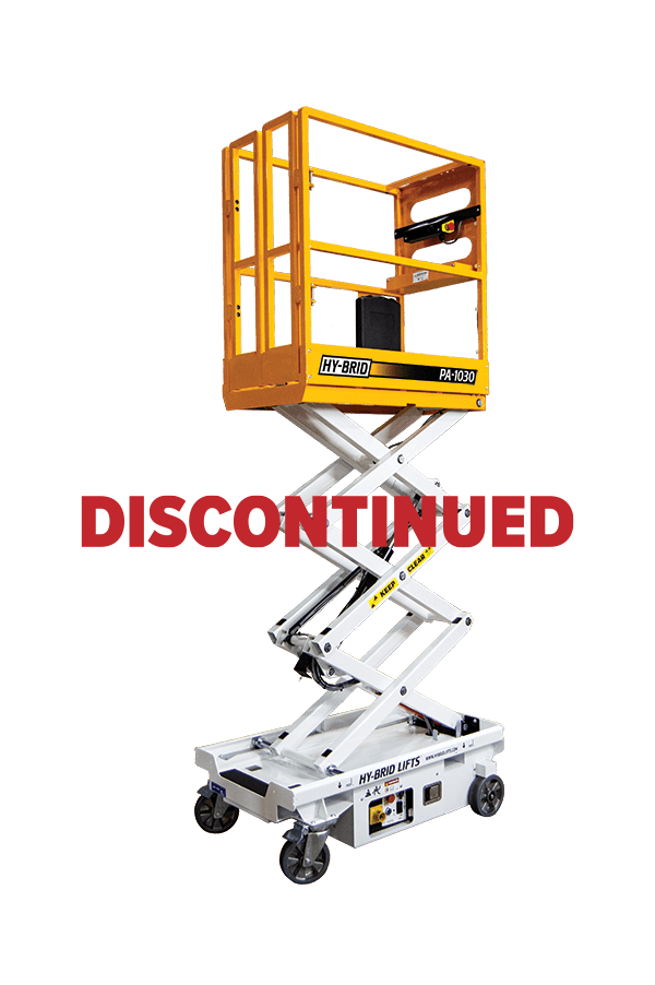 Hy-Brid PA-1030 Push-Around Scissor Lift