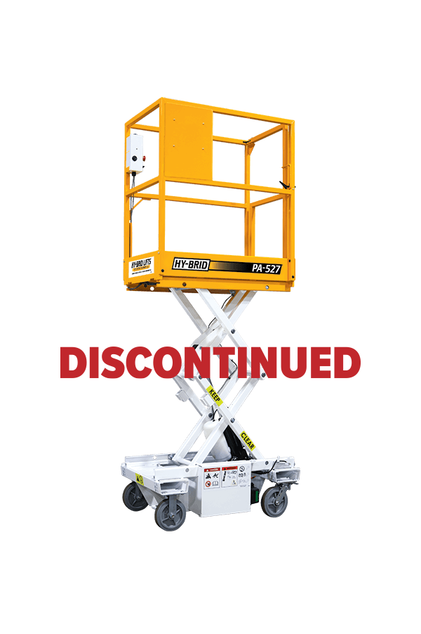 Hy-Brid PA-527 Push-Around Scissor Lift