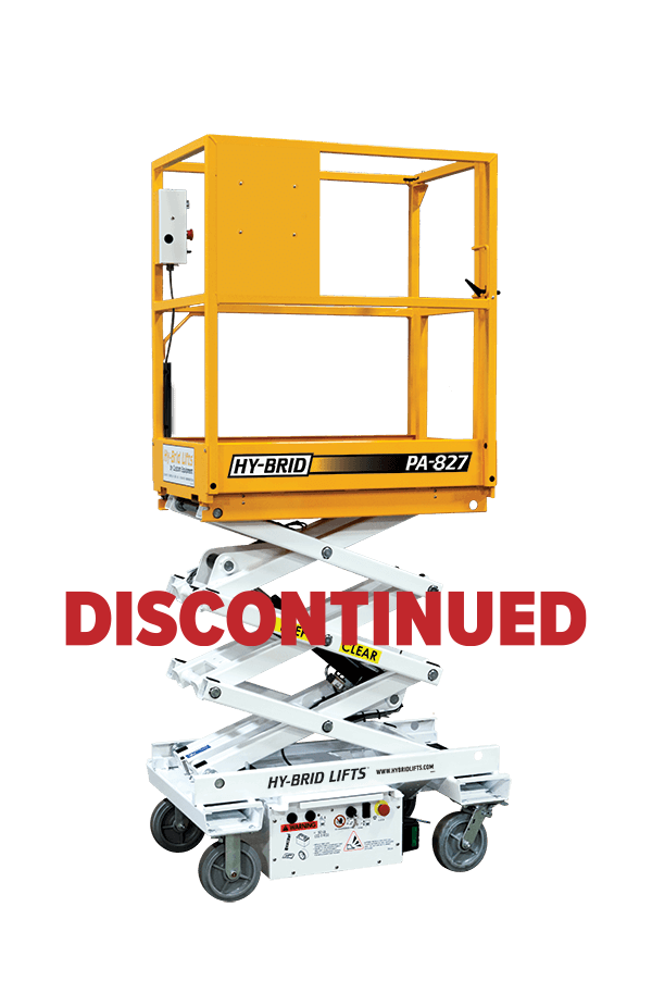 Hy-Brid PA-827 Push-Around Scissor Lift