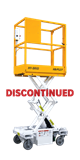 HB-P527 Push-Around Scissor Lift