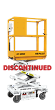 HB-P827 Push-Around Scissor Lift