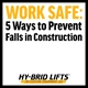Fall Prevention in Construction